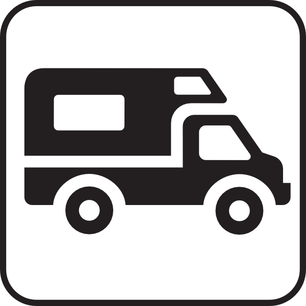 600x600 Camper clipart delivery car