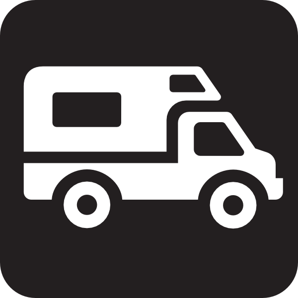 600x600 Camper clipart delivery truck