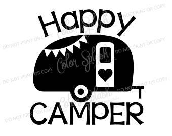 340x270 Camper Illustration Etsy