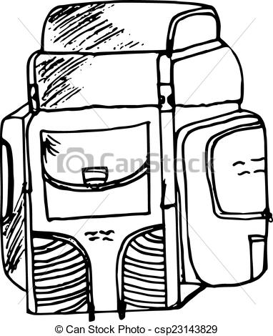 382x470 Backpack clipart, Suggestions for backpack clipart, Download