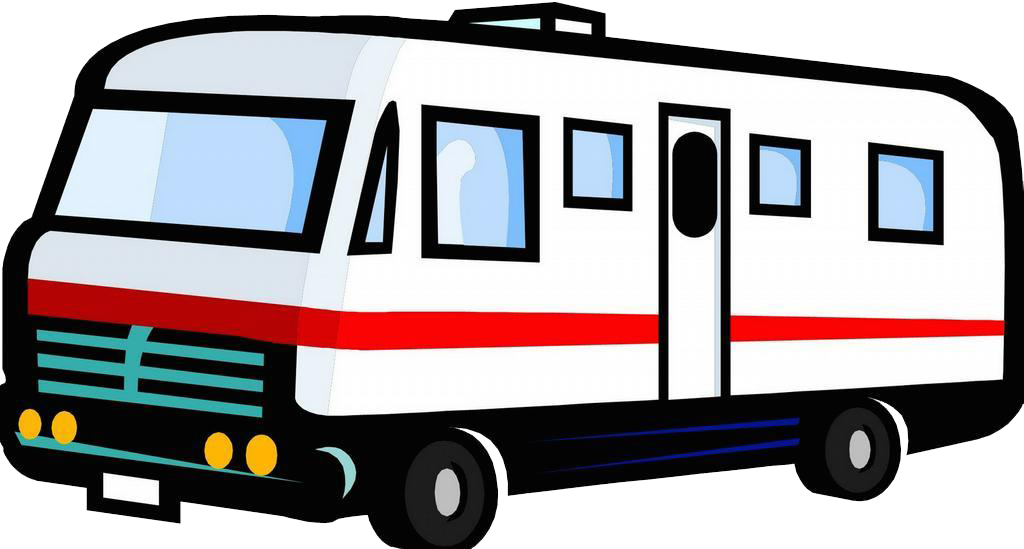 1024x549 Caravan Clipart Motorhome