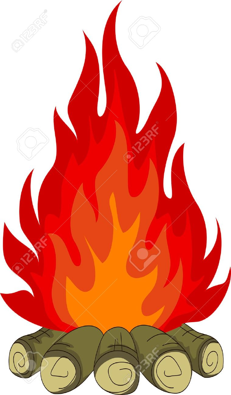 759x1300 Camp Fire Clipart Bonfire