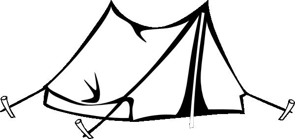 600x284 Campfire Clipart Tent