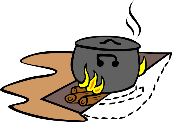600x425 Campfire Cooking Clipart Free Images