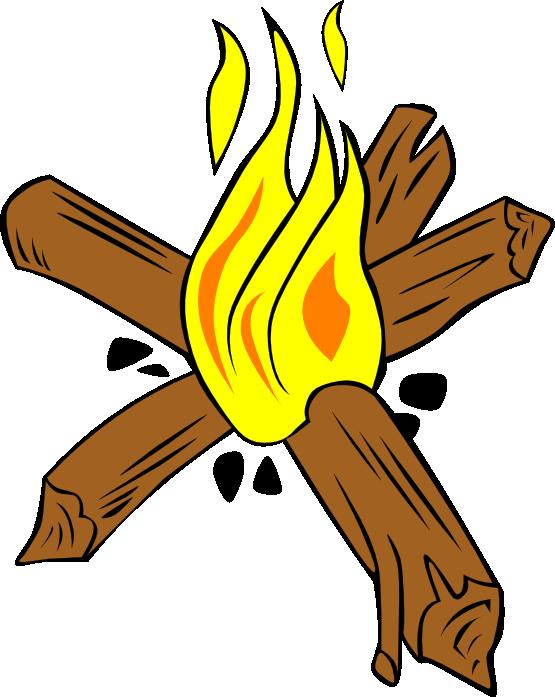 555x697 Free Campfire Clip Art