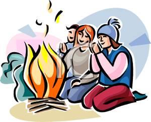 300x243 Best Campfire Clipart