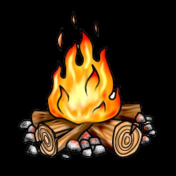 352x352 Bonfire Clipart Transparent