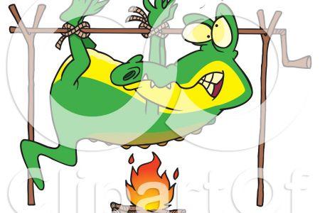 450x300 Campfire Food Clip Art