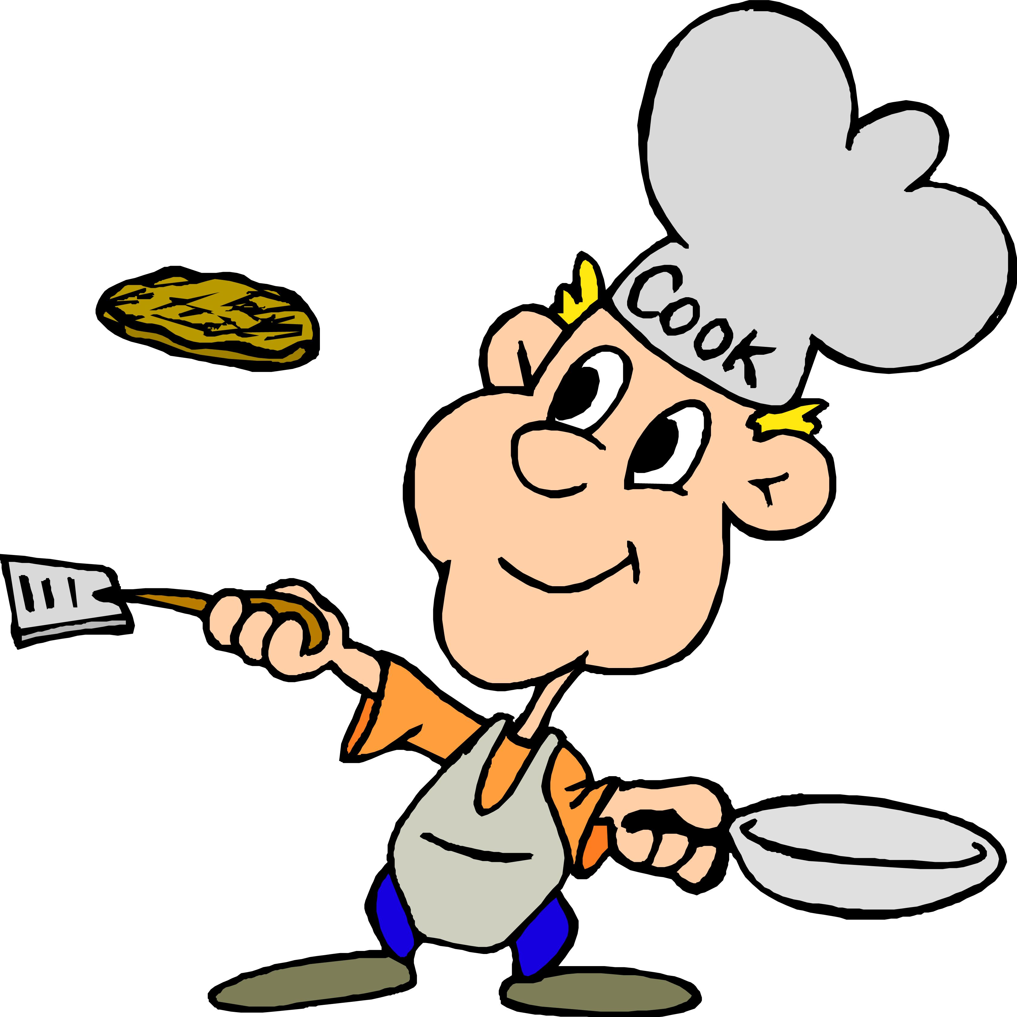 3357x3357 Cooking Breakfast Clipart 2 Clipartcow