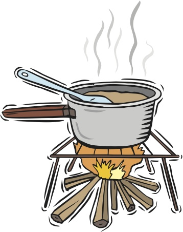 358x452 Fire Clipart Cooking Fire