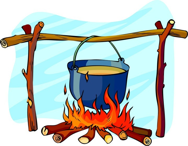 720x559 Bonfire Clipart Campfire Cooking