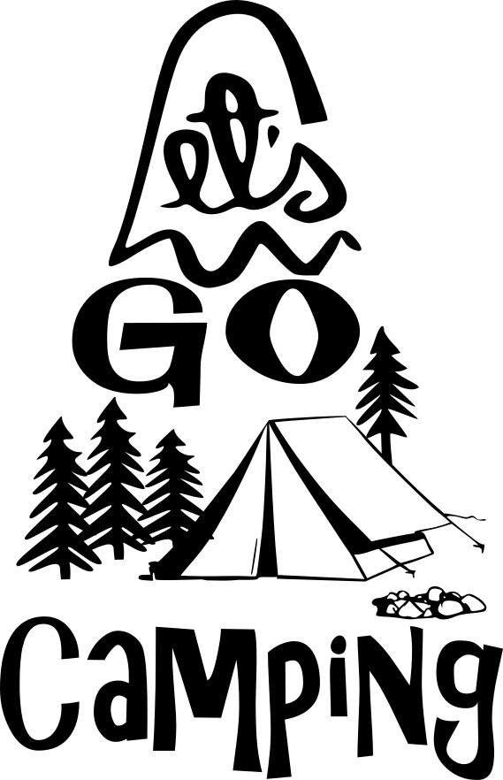 569x882 199 Best Camping Images Black, Cricut Vinyl And Ell