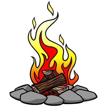 346x346 Campfire Clipart 5