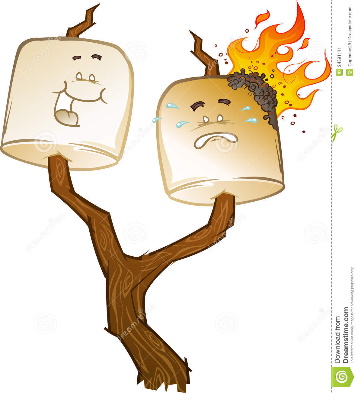 1186x1300 Campfire Clipart Roasted Marshmallow