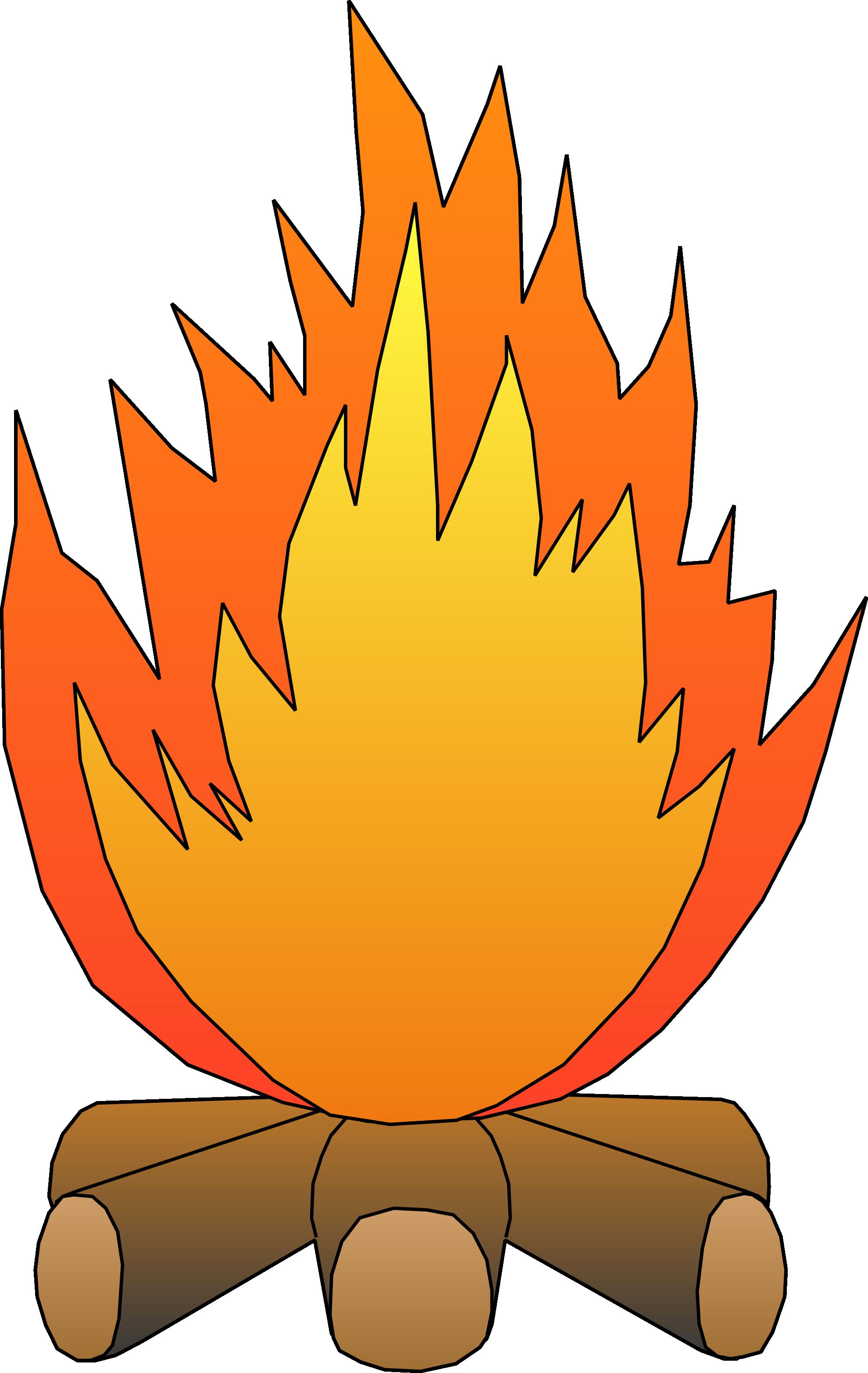 1979x3130 Smores Campfire Clipart