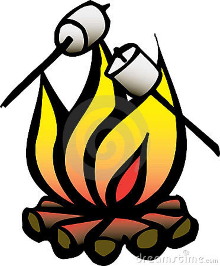 744x900 Best Campfire Clipart