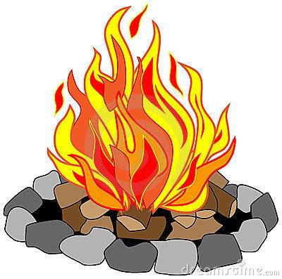 400x397 Best Campfire Clipart