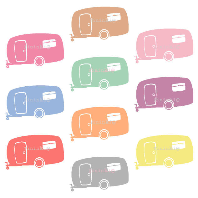 633x633 Camping Clip Art, Digital Clipart, Tent Clipart, Summer Clip Art