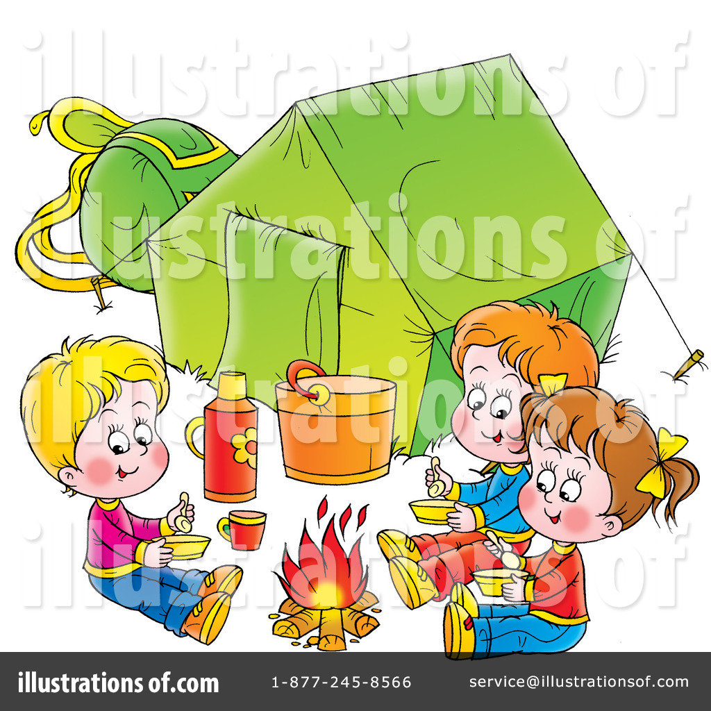 1024x1024 Camping Clipart
