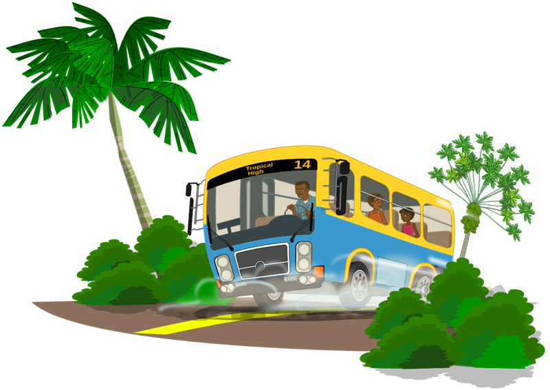 800x567 Camping Tropical Island Clipart
