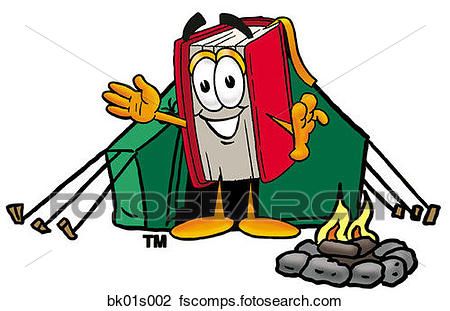 450x311 Clipart Of Book Camping Bk01s002
