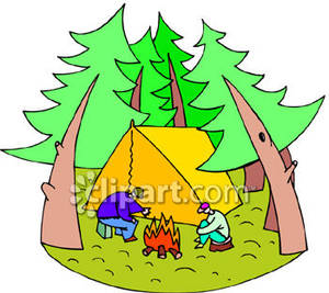 300x267 In The Woods Clipart