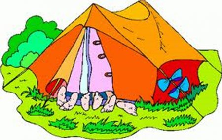 450x283 Camping Cartoon Pictures