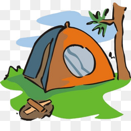 260x260 Cartoon Camping Tent, Outdoor, Travel, Camping Png Image For Free