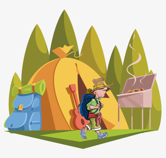 650x620 Wild Camping, Field, Camping, Outdoor Travel Png And Psd File