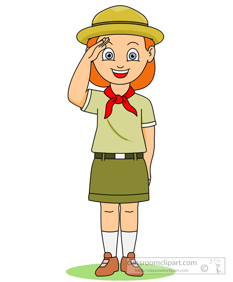 454x550 Girl Scout Camping Clip Art Cliparts