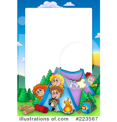 400x420 Camping Clipart