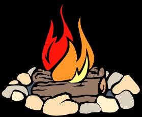 279x230 Camping Clipart Bonfire