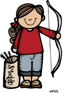 216x320 Girls Camp Clipart