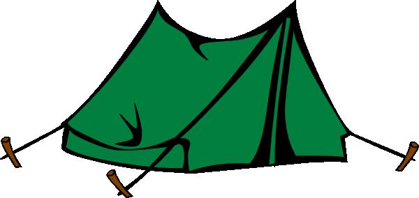 600x284 Green Tent Clip Art