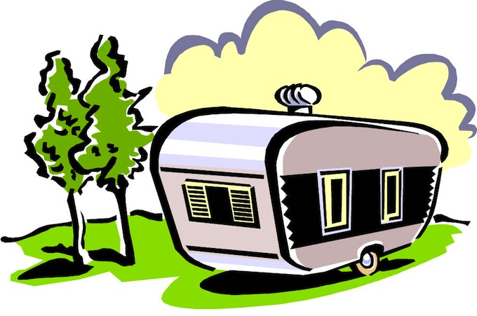 680x451 Rv Camping Clipart