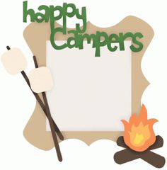 236x240 Campfire Clipart Border