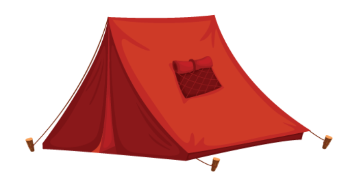 710x352 Camping Clipart Free Tent