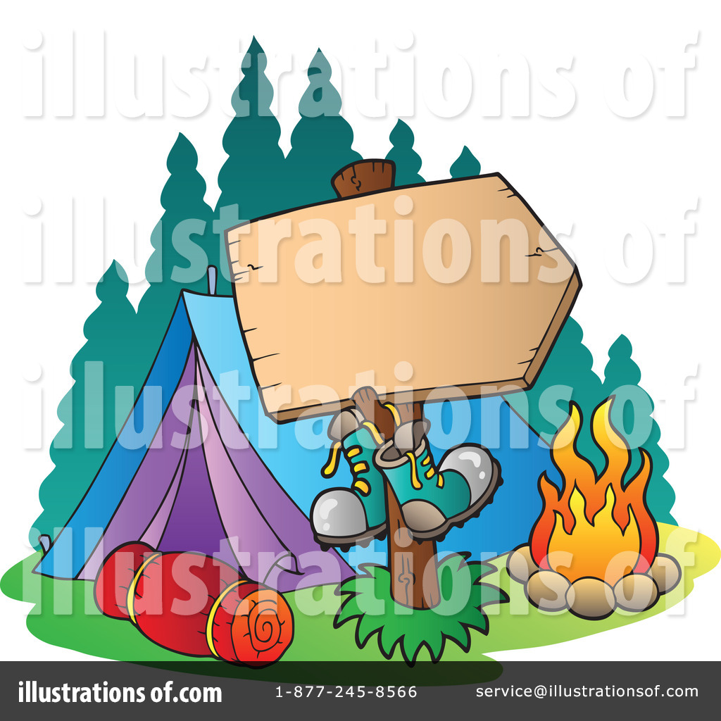 1024x1024 Clip Art Rv Camp Out Clipart