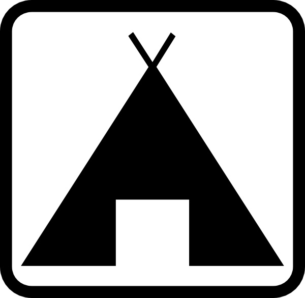 600x586 Geant Pictogramme Camping Clip Art Free Vector In Open Office