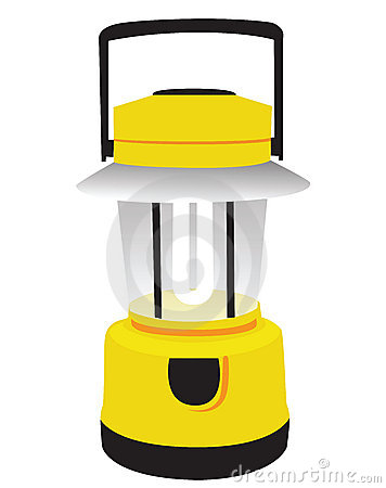 356x450 Camping Lantern Clipart