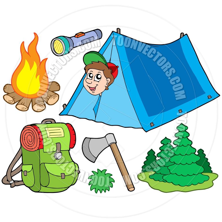 940x940 Rv Camping Cartoon Clipart
