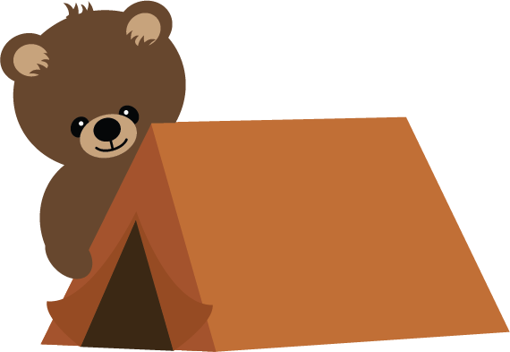 Camping cute. Tent clipart free download
