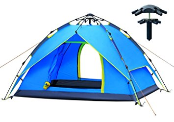 355x249 Augymer Camping Tent, Pop Up 2 3 Person Tent