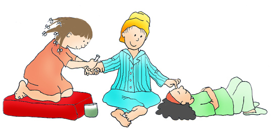 550x272 Clipart Of Slumber Party