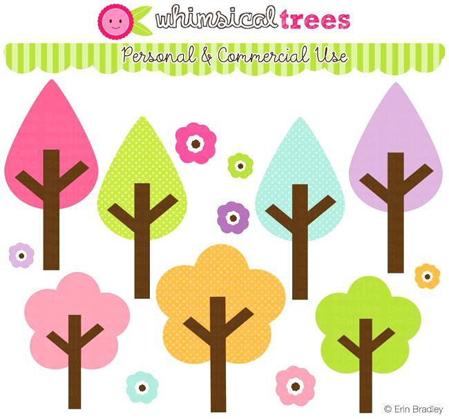 650x607 Scrapbook Clip Art Free Download Whimsical Tree Best Scrapbooking