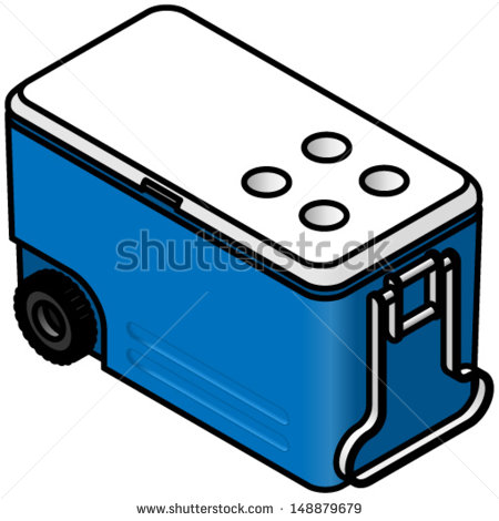 450x470 Camping Ice Chest Clip Art Cliparts