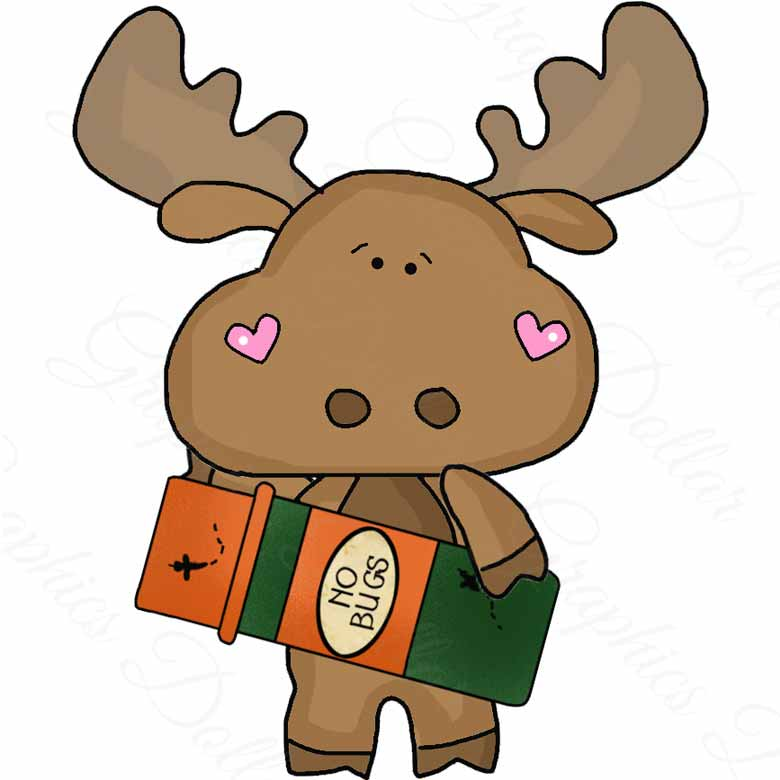 780x780 Camping With Little Moose Clip Art
