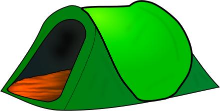 441x223 Image Of Clip Art Tents