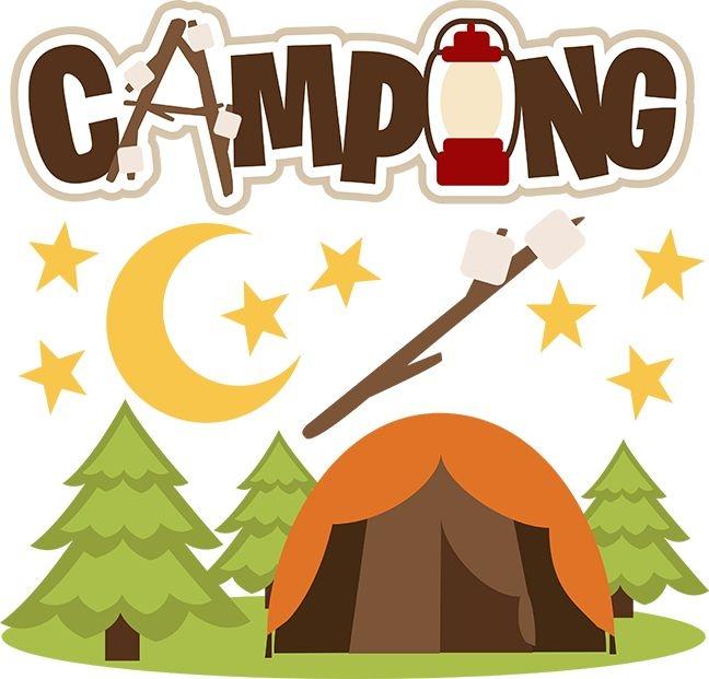 648x621 Camping Clip Art