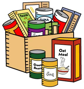 288x306 Can Clipart Food Donation